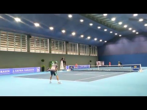 Swiss Indoors Basel 2015 COURT VIEW Goffin - Seppi ATP 500 HD m6a8tx