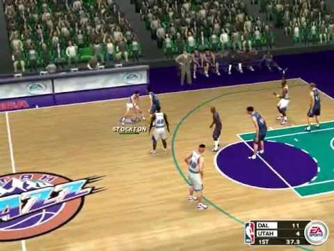 NBA Season 2002-2003 DAL@UTA
