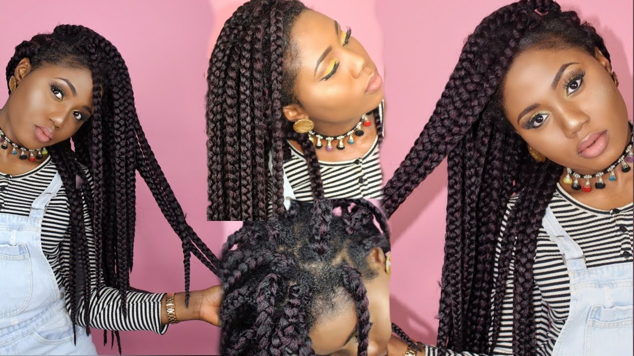 Easy Crochet Box Braids No Cornrows Individual Crochet New