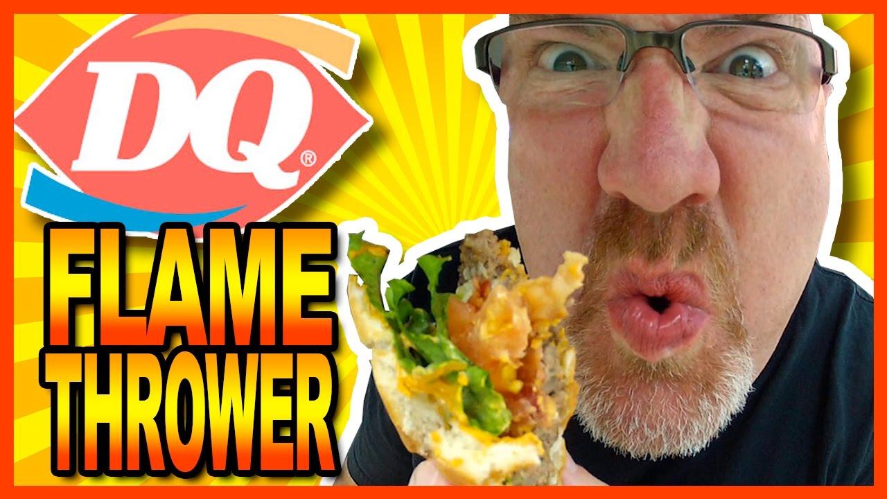 Dairy Queen FlameThrower® GrillBurger™ Combo Review
