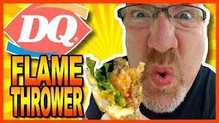 Dairy Queen FlameThrower® GrillBurger™ Combo Review
