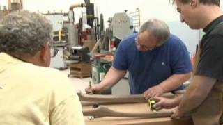 Build Your Sculptured Rocker At Rock'n Chairman University With Charles Brock