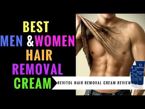 best body hair removal cream for men women revitol