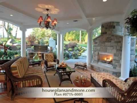 Backyard Outdoor Living Spaces Ideas Video 1 | House Plans And More