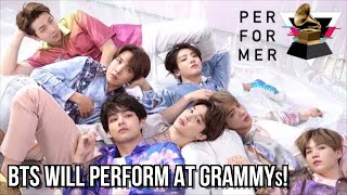 BTS Are Performing At The GRAMMYs! [From Dream To Reality]