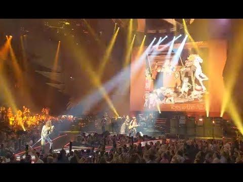 AEROSMITH perform April 26 in Las Vegas without drummer Joey Kramer + setlist