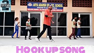 Hook up song || Student of the year 2 || Dance Choreography For Begginers & Kids || AKki
