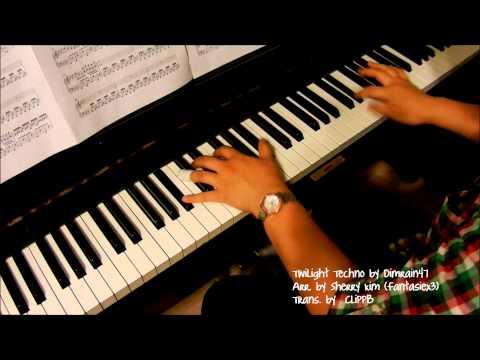 Dimrain47 - Twilight Techno (piano)