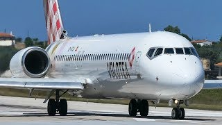 SKIATHOS - BOEING 717 JETBLASTS Away My Camera / ASKCARGO 007#
