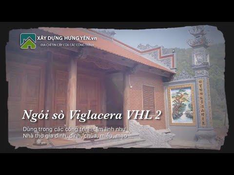 Nhà Thờ Gia đình 5 Gian Giáp Núi, Sử Dụng Ngói Sò Viglacera VHL2 Hạ Long | Ngói Lợp Nhà Thờ