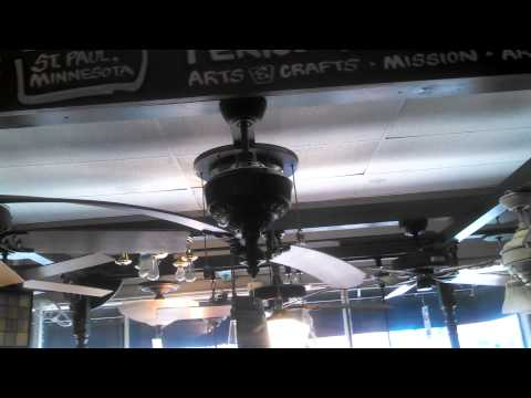 Video Tour of a Ceiling Fan Showroom