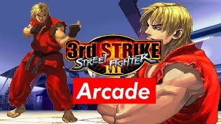 Street Fighter III 3rd Strike Ken Longplay (Hardest 8) No Continues thumbnail