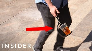 The Unspillable Drink Caddy | It's Cool, But Does It Really Work