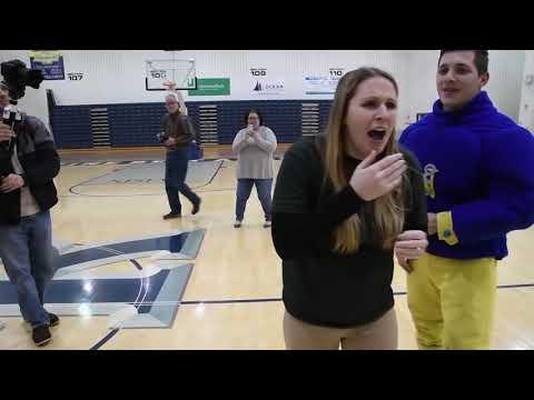 Best Mascot Proposal Video Ever 2017