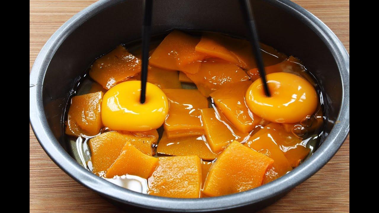【南瓜發糕】南瓜加2個雞蛋,教妳做松軟好吃的發糕,早餐吃比饅頭更營養!