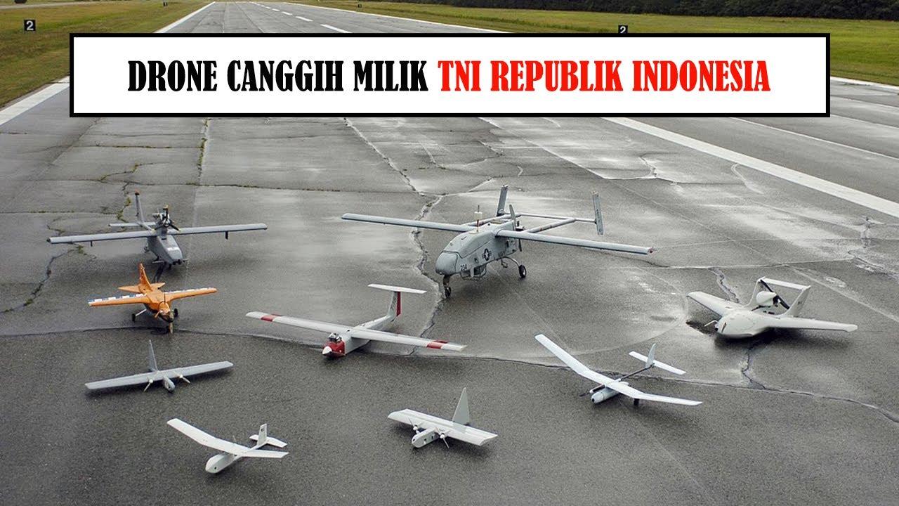 Macam Macam Pesawat Drone Milik TNI Republik Indonesia Tahun 2020