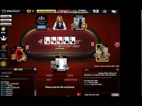 Zynga poker chips for sale - YouTube