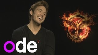 The Hunger Games' Sam Claflin: Finnick is like Marilyn Monroe