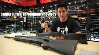 Sniper Rifles Throughout the Ages - RedWolf Airsoft RWTV