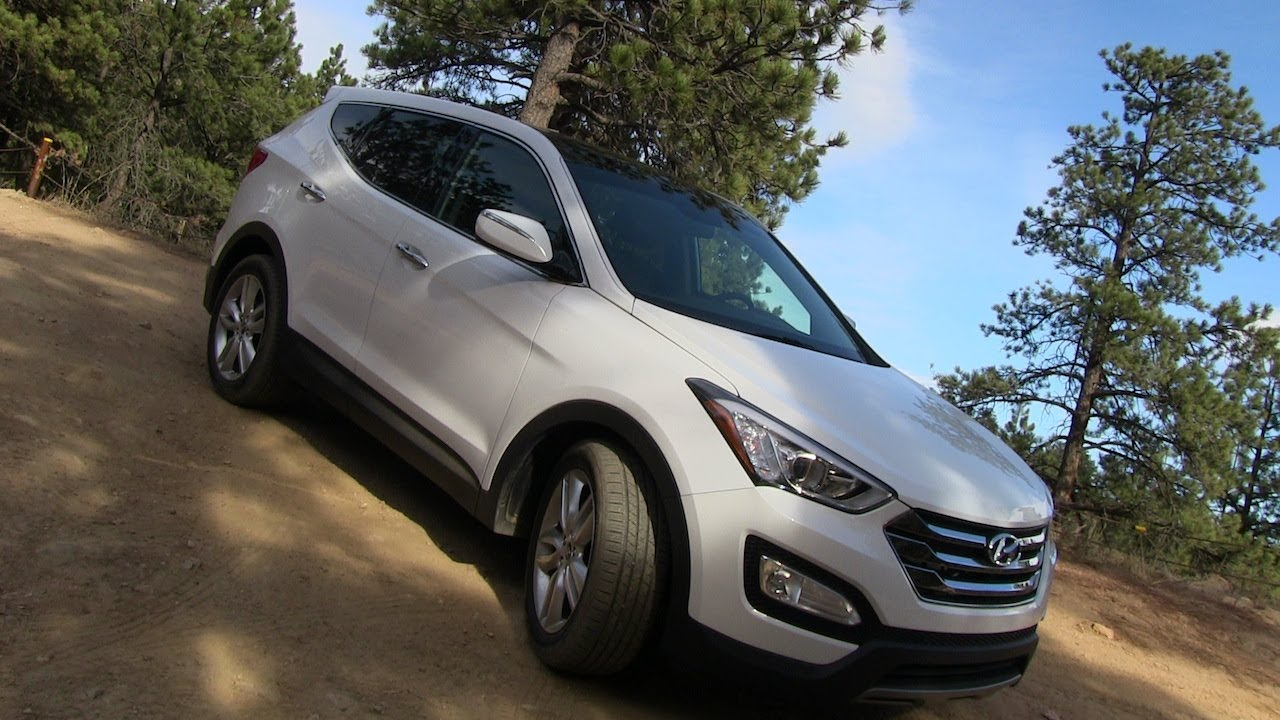 2013 Hyundai Santa Fe Sport Awd On Amp Off Road Review Youtube