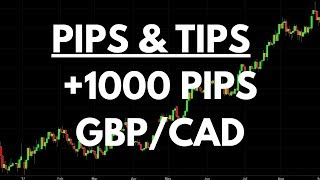 Working One Overall Trading Idea: Over +1000 Pips on GBPCAD | Pips & Tips