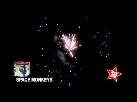 Space Monkey - 18 Shots 200 Gram Cake