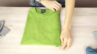 How to fold a T-shirt like a Pro - 3 ways thumbnail