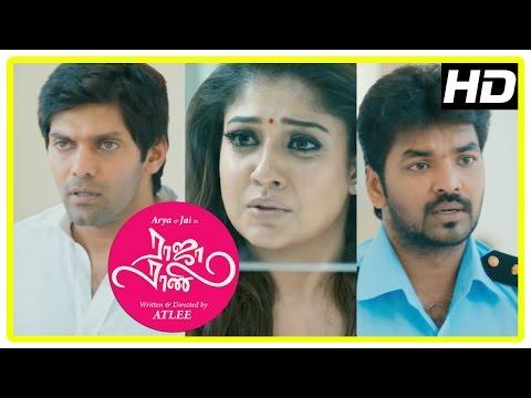 Raja Rani Tamil Movie Climax Scene | Arya | Nayanthara | Jai | Nazriya | Sathyaraj | Atlee