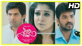 Repeat youtube video Raja Rani Tamil Movie Climax Scene | Arya | Nayanthara | Jai | Nazriya | Sathyaraj | Atlee