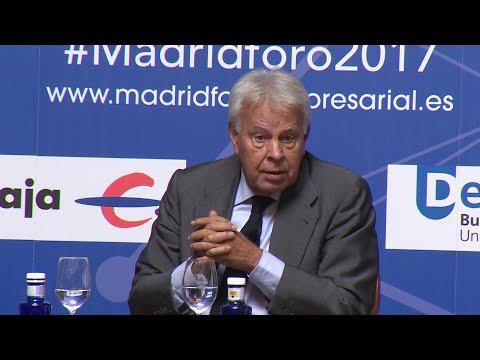 Felipe González insinúa que habría usado el artículo 155