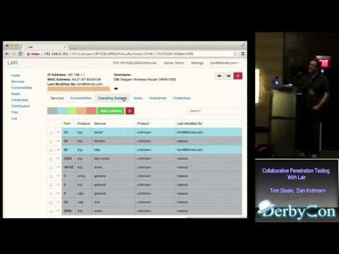 DerbyCon 3 0 1111 Collaborative Penetration Testing With Lair Tom Steeledan Kottmann