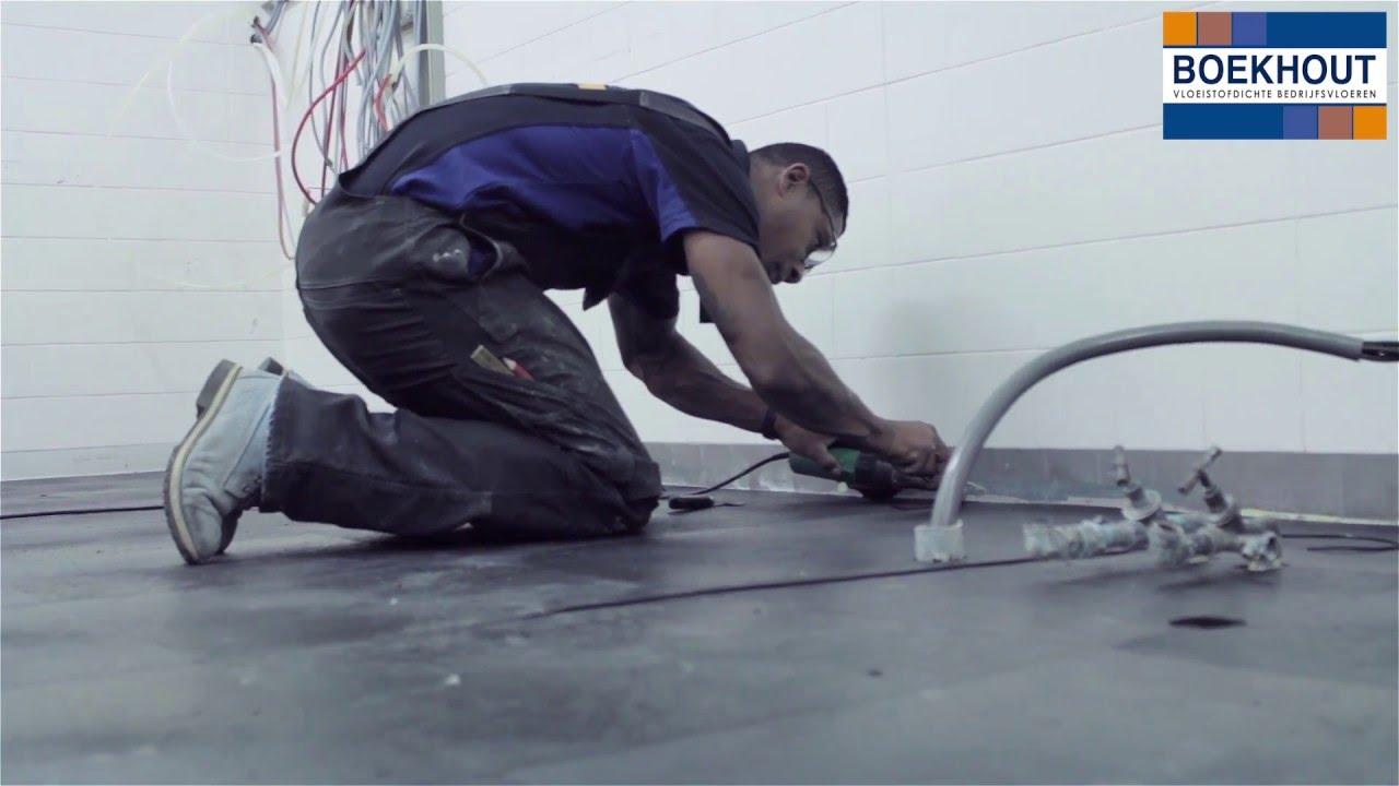 Horeca Vloeren Keuken : Hoe wordt een vloeistofdichte haccp keuken vloer aangebracht? youtube