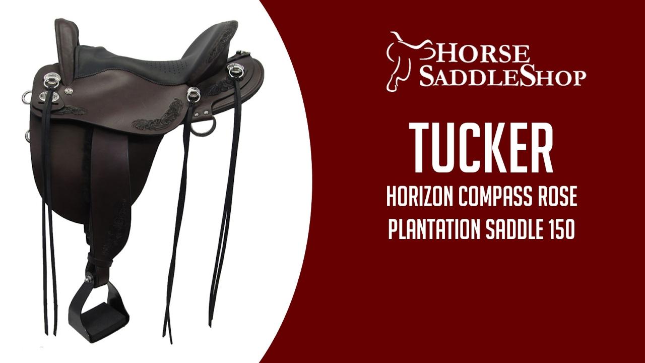 Tucker Horizon Compass Rose Plantation Saddle 150