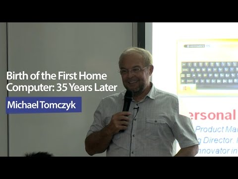 Public Lecture: The First Home Computer