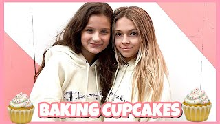 BFF DAY Baking Cupcakes  Coco Quinn and Hayley LeBlanc  Quinn Sisters