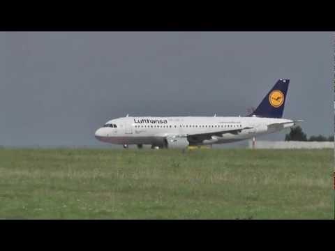 Lufthansa Italia - take-off Prague Airport LKPR