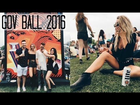 Governor's Ball Music Festival Experience + Outfits 2016 | Vlog 21