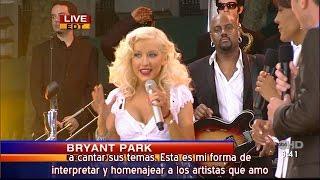 "Christina Aguilera - Especial ""Back To Basics"" GMA Summer Concert Series (Subtítulos español)"