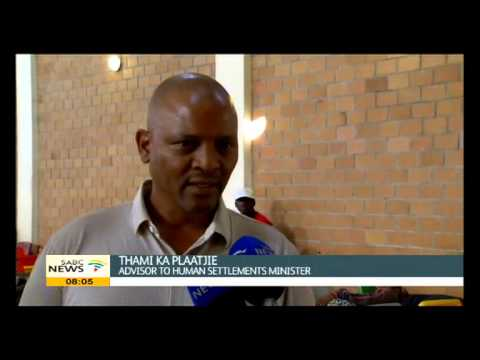 Department of Human Settlement visited SANRAL evictees in Lwandle