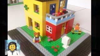 LEGO - Como Construir uma Casa Divertida de Lego!!