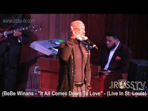James Ross @ BeBe Winans -