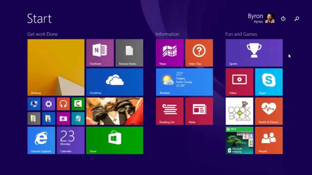 Microsoft Windows 8.1: Installing Store and Desktop Apps - YouTube