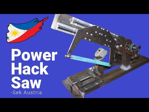 Diy Power Hacksaw Build (Part 1)