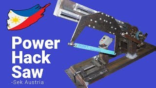 Cover images Diy Power Hacksaw Build (Part 1 of 2)