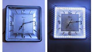 ⏲️ How To Make LED Clock At Ho…