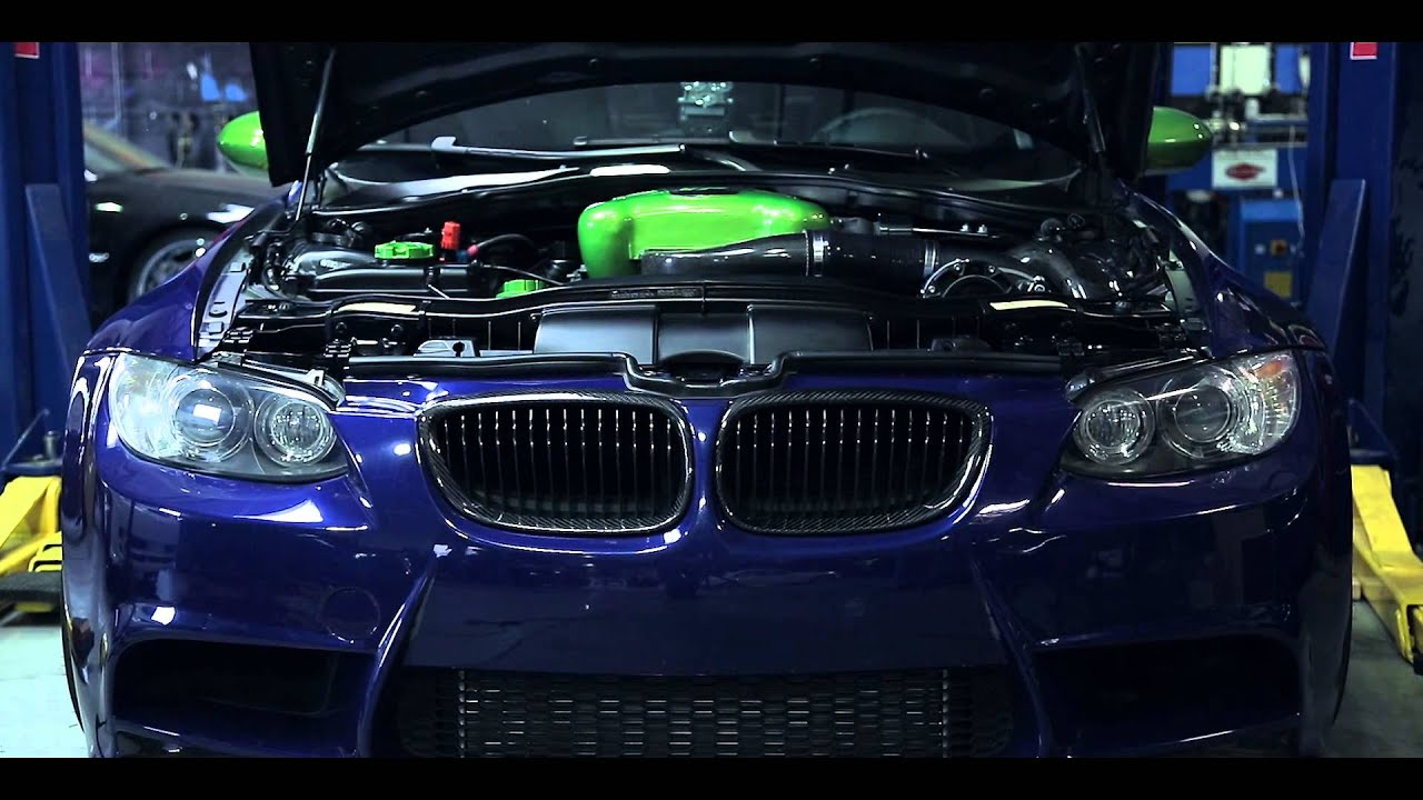 VF Engineering BMW M3 E90 Supercharger Dyno and Donuts Teaser