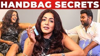 Mamathi Chari Handbag Secrets Revealed By VJ Ashiq | whats Inside Your Handbag