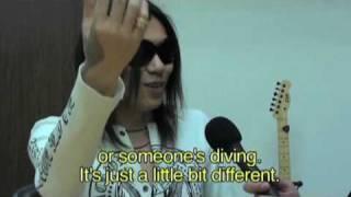 Interview with Die  (Dir en grey)  January 2010