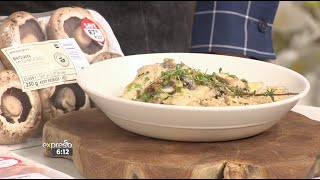 Recipe: Creamy Chicken and Mushrooms (WW)