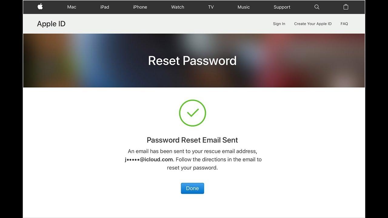 iforgot.apple.com apple id password